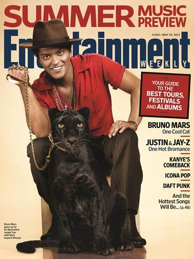 BRUNO MARS COVERS ENTERTAINMENT WEEKLY!