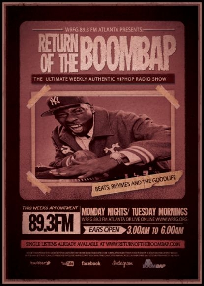 TONIGHT..THE BOOMBAP SHOW IS GONNA BE SO DUMB....IT'LL BE BORDERLINE GENIUS!