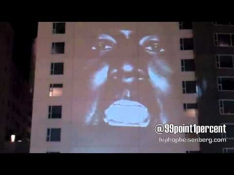 "Kanye West ""New Slaves"" Hollywood CA @ W Hotel [Video]"