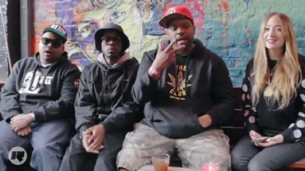 Slum Village on 'The Lily Mercer Show' (Video)