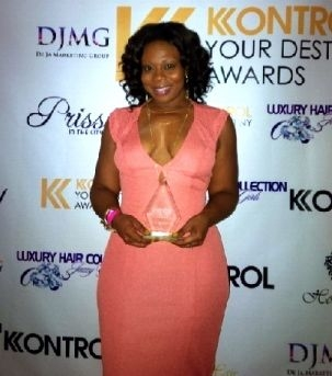 CEO/PRESIDENT CHRISTAL JORDAN RECEIVES ENTREPRENEUR OF THE YEAR AWARD