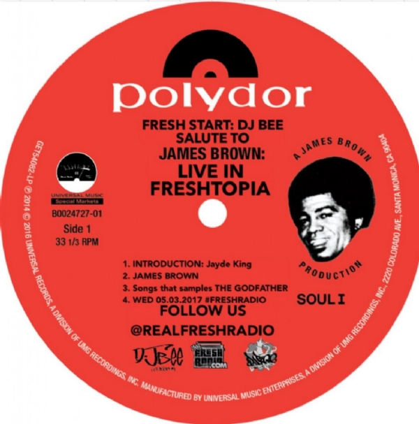 Download the #FreshStart tribute to James Brown at itsFreshRadio.com or stream on the app