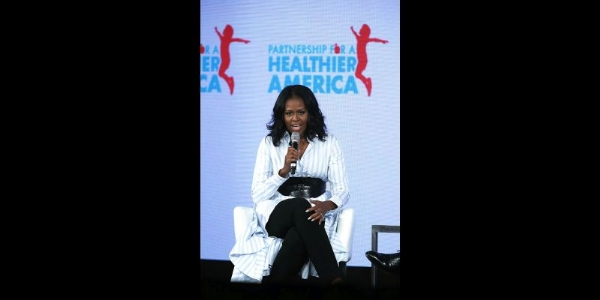 Michelle Obama Questions Those Against Healthier Lunches