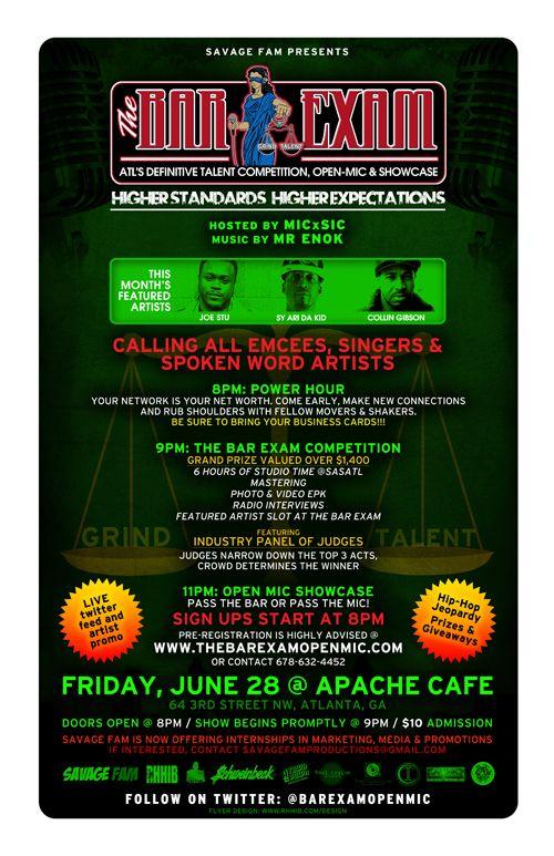The Bar Exam Apache Cafe
