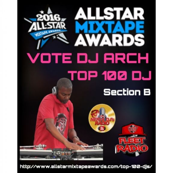VOTE FOR DJ ARCH