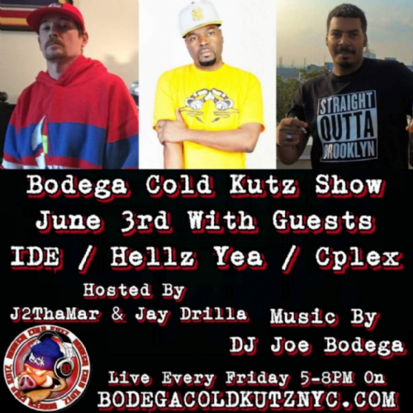 Check out my interview on the Bodega Cold Kutz show