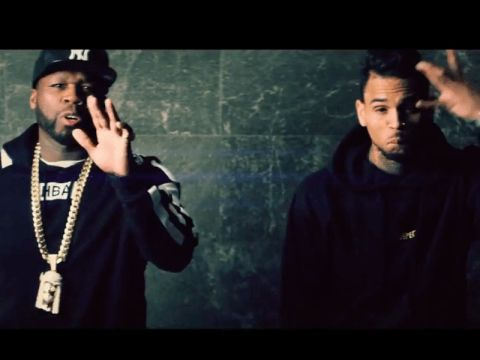 "50 Cent & Chris Brown Hit The Strip Club But Say ""No Romeo No Juliet"" [Music Video]"