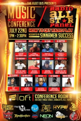 FLEET DJ MUSIC CONFERENCE ....FLEET DJ RADIO PANEL JULY 22TH .