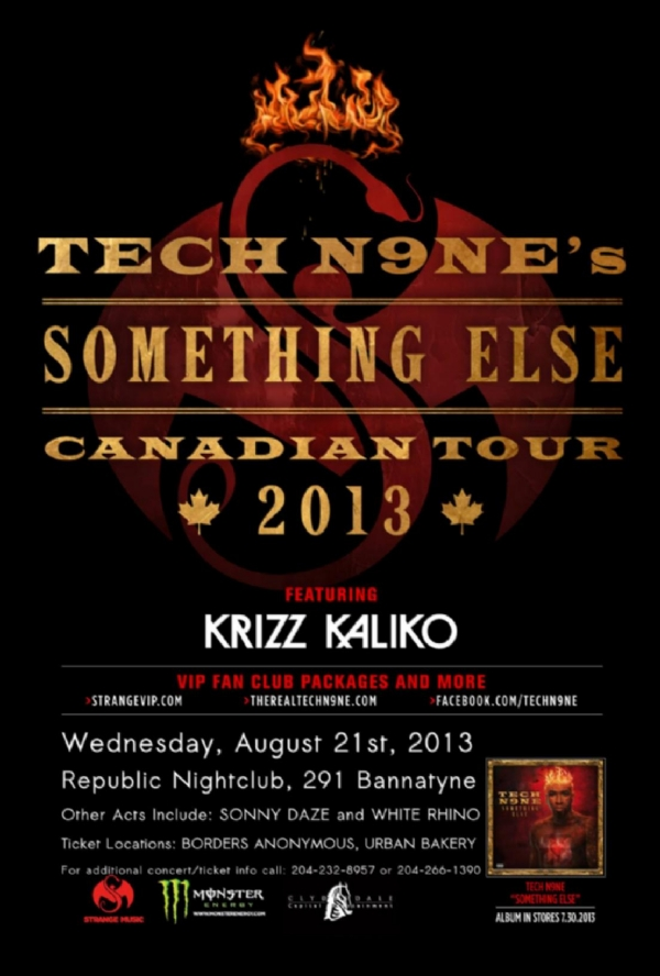 quottech n9ne with krizz kaliko quotsomething else canada tour
