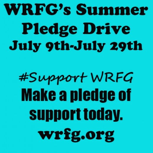 WRFG Summer Pledge Drive - July 9th - July 29th