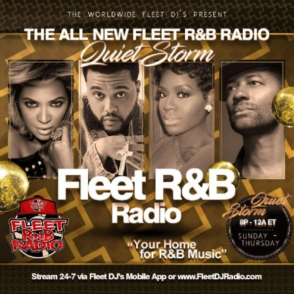 "NEW SHOW ALERT ""PRESIDENT DJ O.S.PRESENTS"" THE QUIET STORM ON FLEET RNB RADIO"