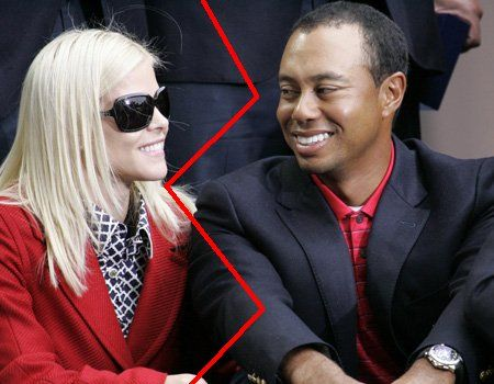 tiger woods wife pregnant. TIGER WOODS#39; Wife ELIN Meets