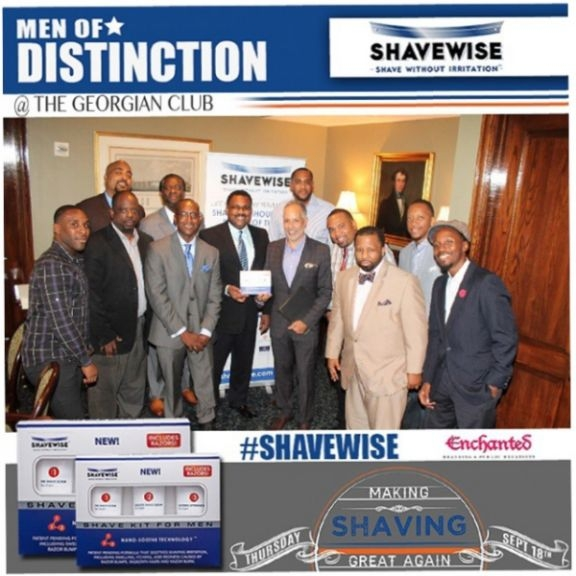 SHAVEWISE HOSTS 'MEN OF DISTINCTION' LUNCHEON DURING ATLANTA'S BIGGEST HIP HOP WEEKEND