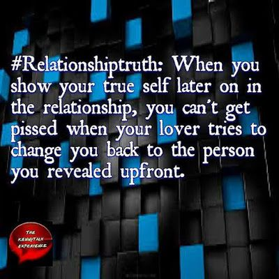 #RelationshipTruth:  Back to the Old You