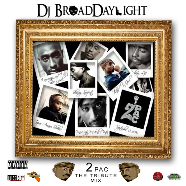 Dj Broaddaylight's 1-hour 2pac tribute mix