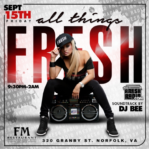 **TONIGHT** All Things Fresh @FMonGranby