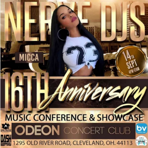 Nerve DJs 16th Anniversary Music Conference Stage - Micca