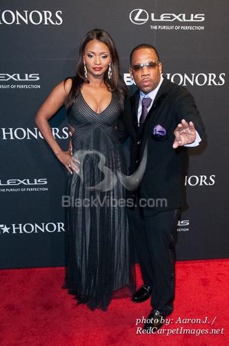 Michael Bivins and wife Teasha Bivins