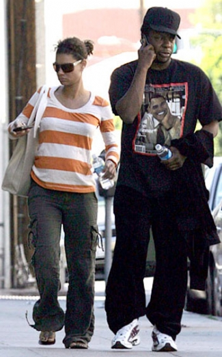 Bobby Brown and fiancee