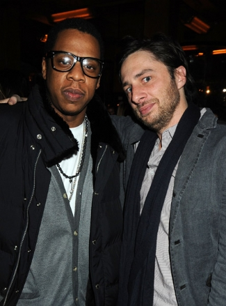 Jay-Z and Zach Bronfman