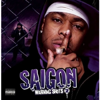 Saigon - 'Warning Shots 2' album cover