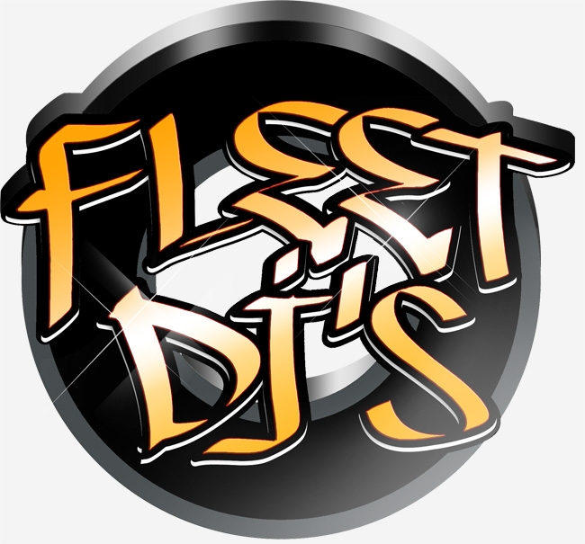 Fleet DJs Gold Logo