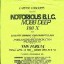 A OLD FLYER ME DJING THE BIGGIE & MOBB DEEP CONCERT