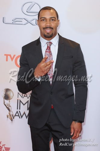 Actor Omari Hardwick