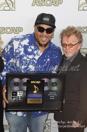 Producer Timbaland and ASCAP President Paul Williams