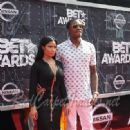 Rappers Nicki Minaj and Meek Mill