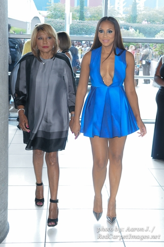 Evelyn Braxton and Singer Tamar Braxton