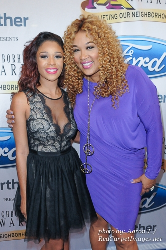 Actress Kym Whitley with niece Tyler Kay