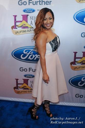 Singer Erica Campbell