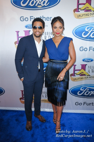 Actor Michael Ealy and Actress Sanaa Lathan