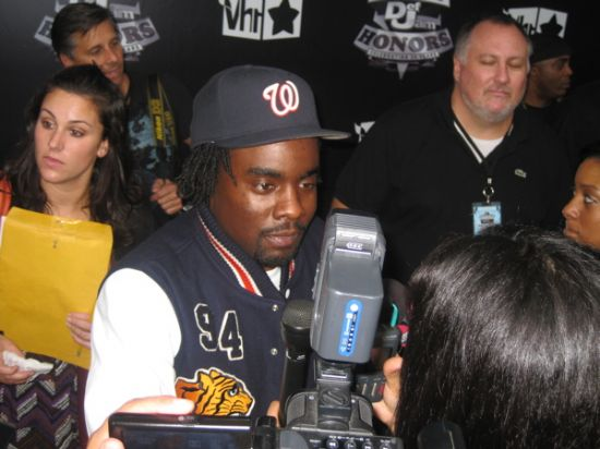 Wale @ 2009 VH1 Hip-Hop Honors