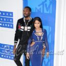 Rappers Meek Mill and Nicki Minaj