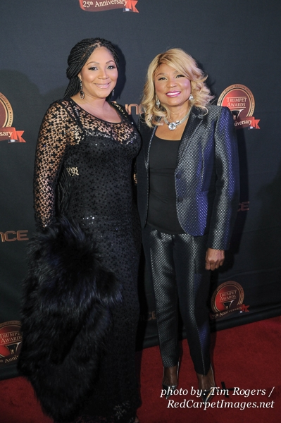 Trina and Evelyn Braxton