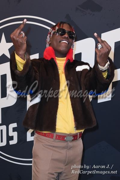 Rapper Lil Yachty