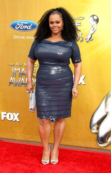 Jill Scott @ 2010 NAACP Image Awards Red Carpet