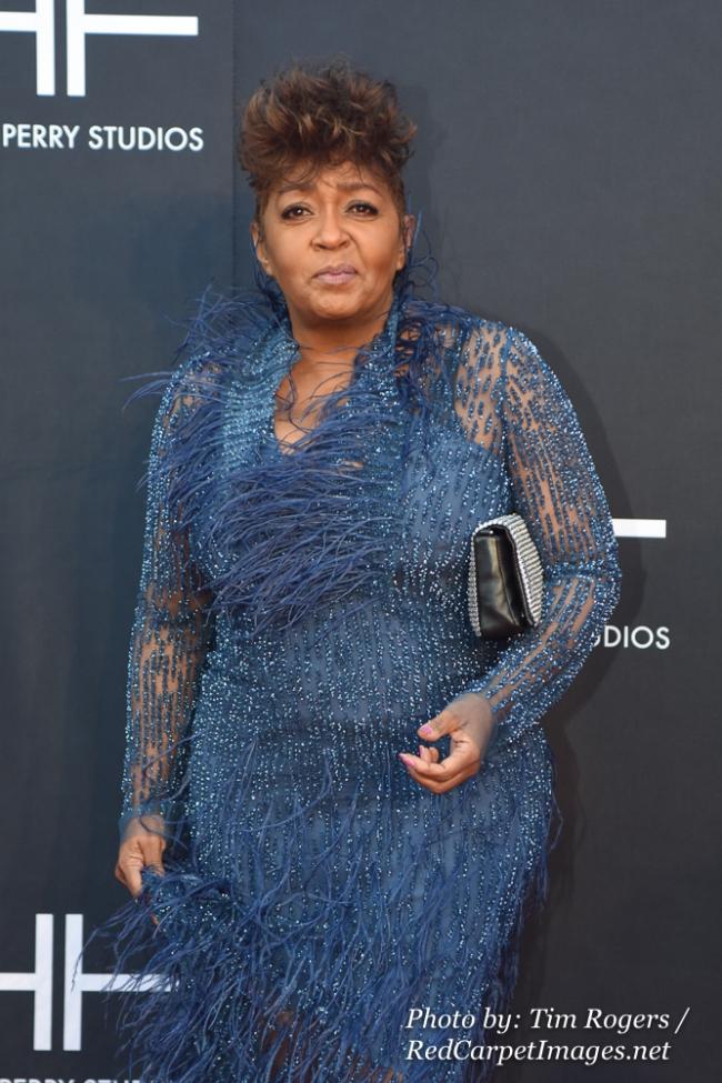 Singer Anita Baker attends Tyler Perry s Atlanta Studio Grand Opening