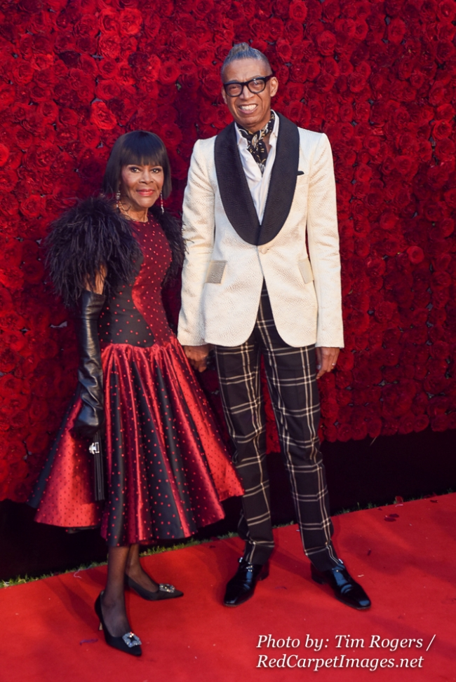Actress Cicely Tyson and a Guest attend Tyler Perry s Atlanta Studio Grand Opening