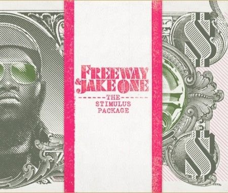 Freeway and Jake One The Stimulus Package Album Cover