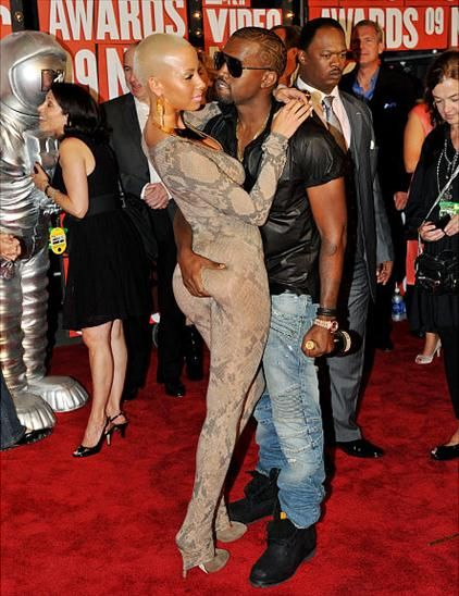 kanye west and amber rose beach. Amber Rose and Kanye West