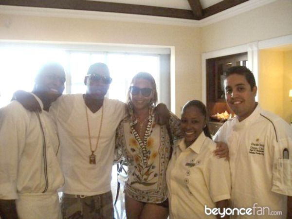 Beyonce and Jay-Z during their 2010 Memorial Day Weekend vacation