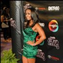 Actress Keshia Knight Pulliam on the red carpet at the 2010 Soul Train Awards