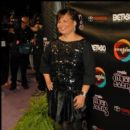 BET Chief Executive Debra Lee arrives to the 2010 Soul Train Awards
