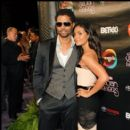 Eric Benet and guest attend the 2010 Soul Train Awards