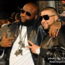 Rick Ross and DJ Khaled pose on the red carpet at the 2010 Soul Train Awards