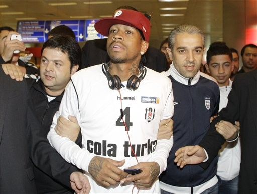allen iverson turkey. Allen Iverson in Turkey