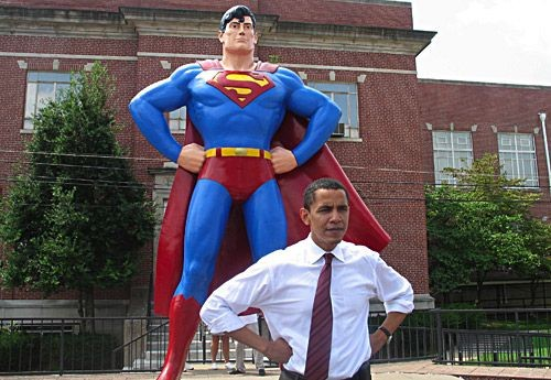 obama is superman